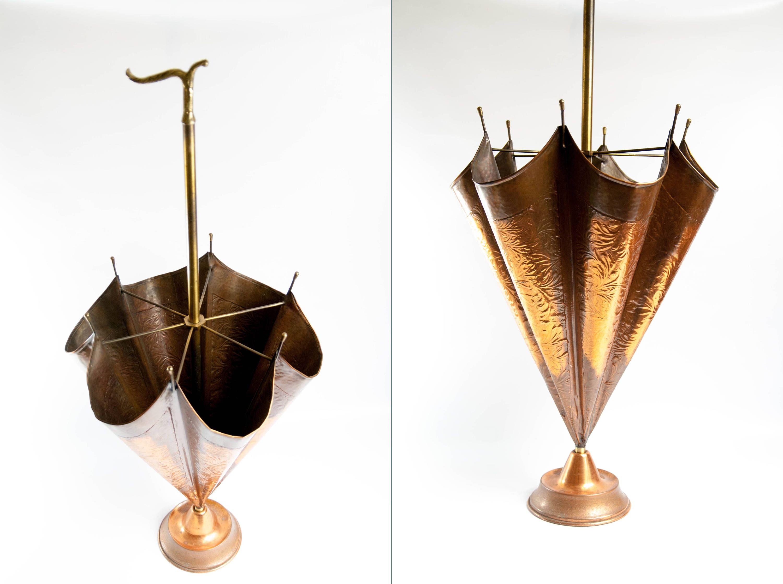 Solid European Umbrella Stand Copper Holder Etsy