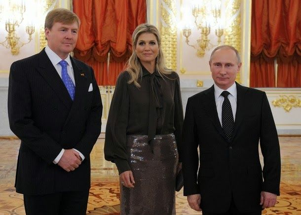 King Willem Alexander And Queen Maxima Visit Russia Queen Maxima Royal Video Hollywood Fashion