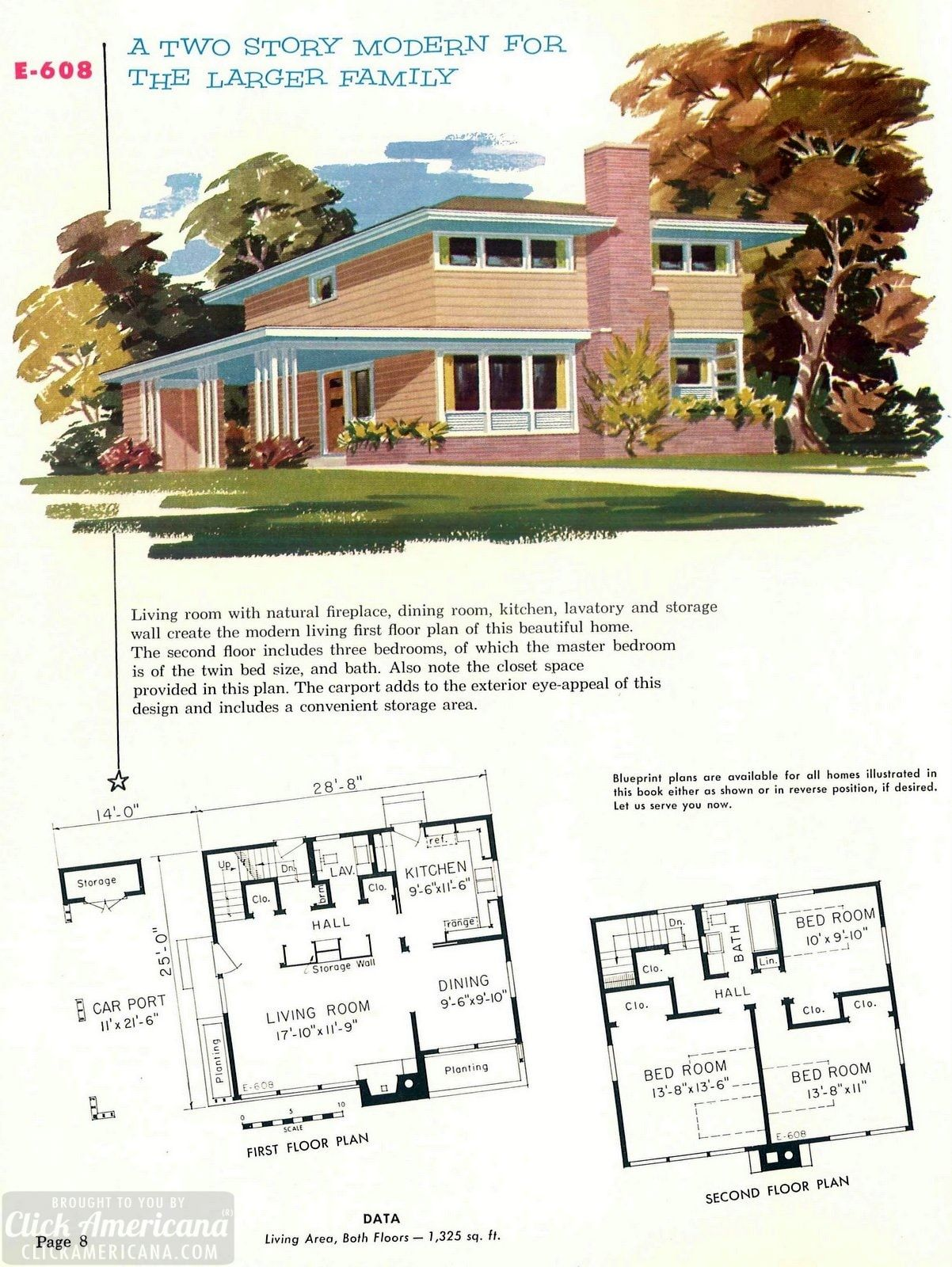 130 Vintage 50s House Plans Used To Build Millions Of Mid Century Homes We Still Live In Today In 2021 Mid Century Modern House Plans Mid Century Modern House Vintage House Plans