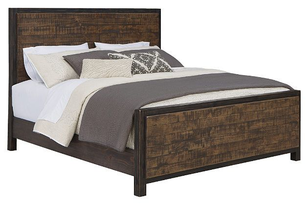 Wesling 5-Piece Queen Master Bedroom by Ashley HomeStore, Black ...