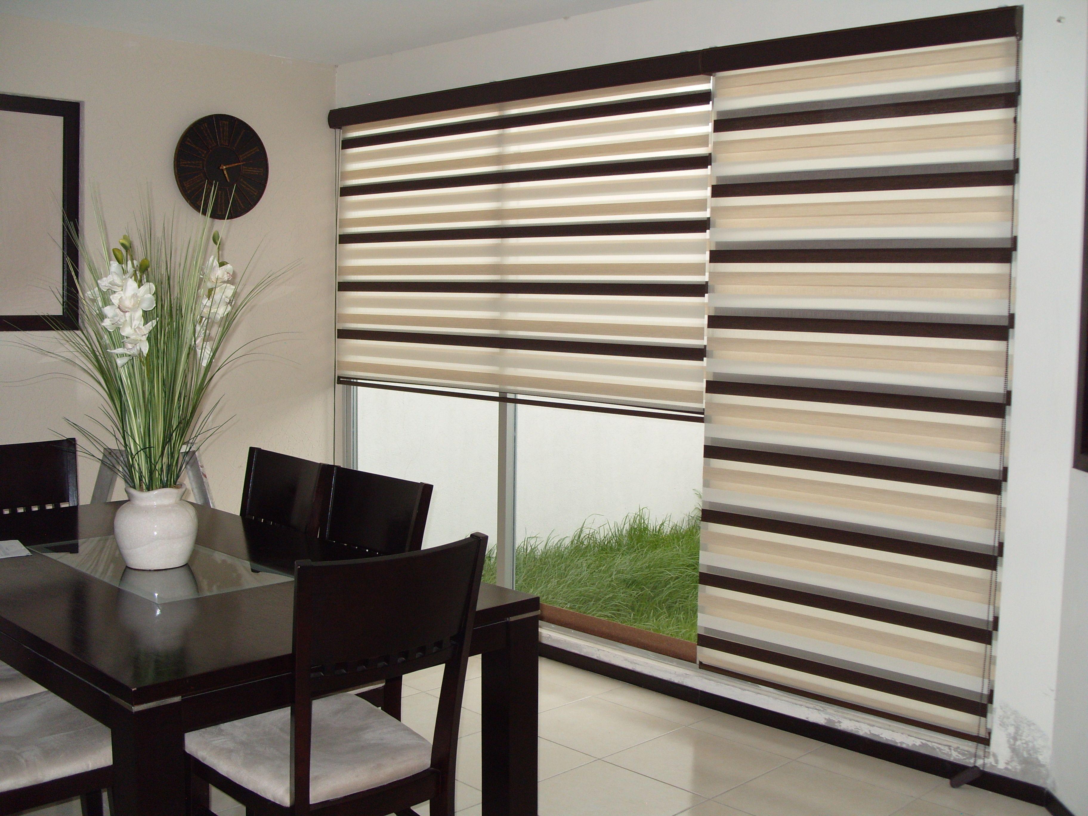 Decora con nuestras persianas dia y noche cortinas y for Ventanas con persianas incorporadas