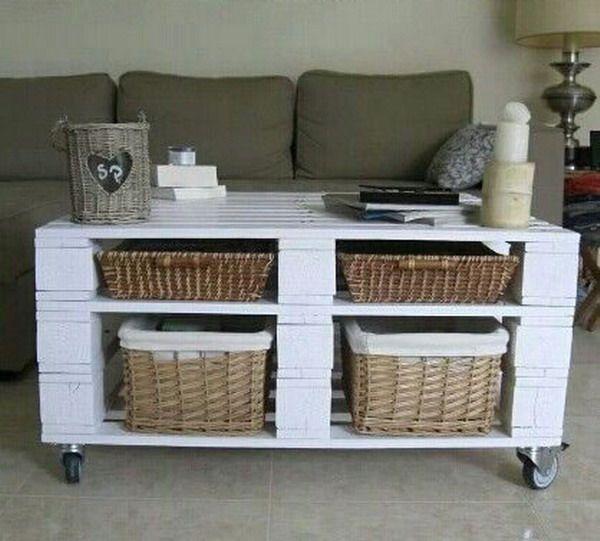 M s propuestas con palets o tarimas de madera decoraci n - Ideas con palets de madera ...