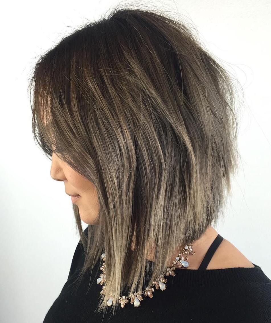 inspiring long layered bob hairstyles long bob bobs and bob