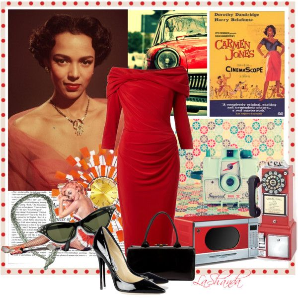 """Retro!!!"" by lashandanista on Polyvore"