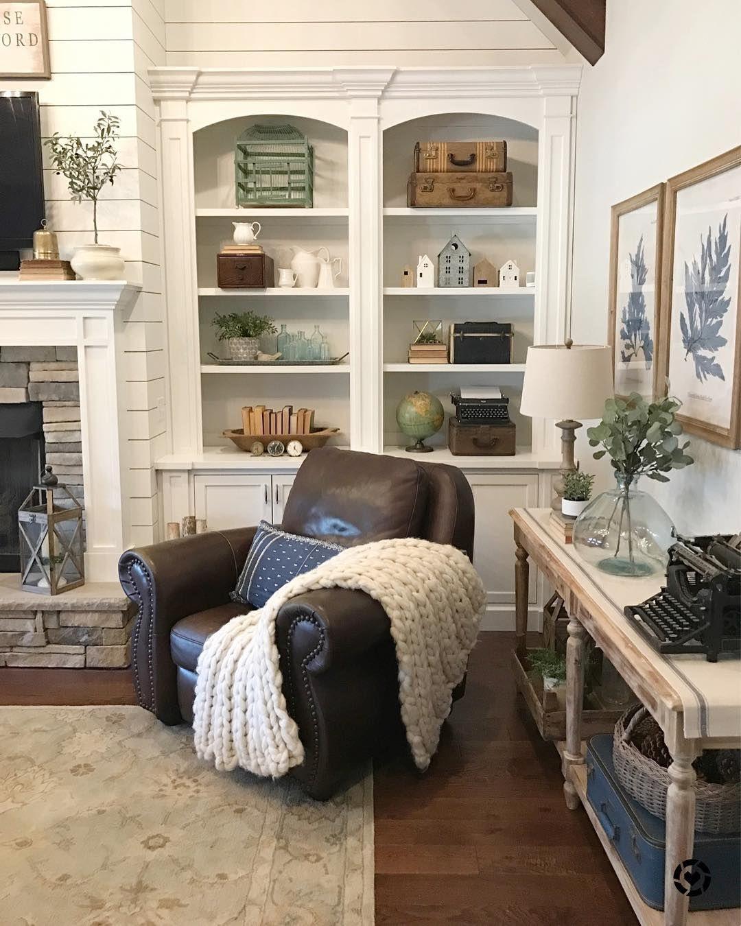 shelf decor | Home living room, Home decor, Home