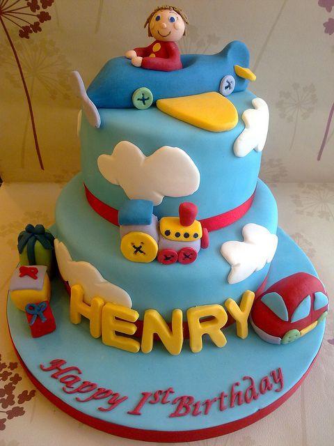 One Special Boy Birthday Cake by Creations By Paula Jane, via Flickr
