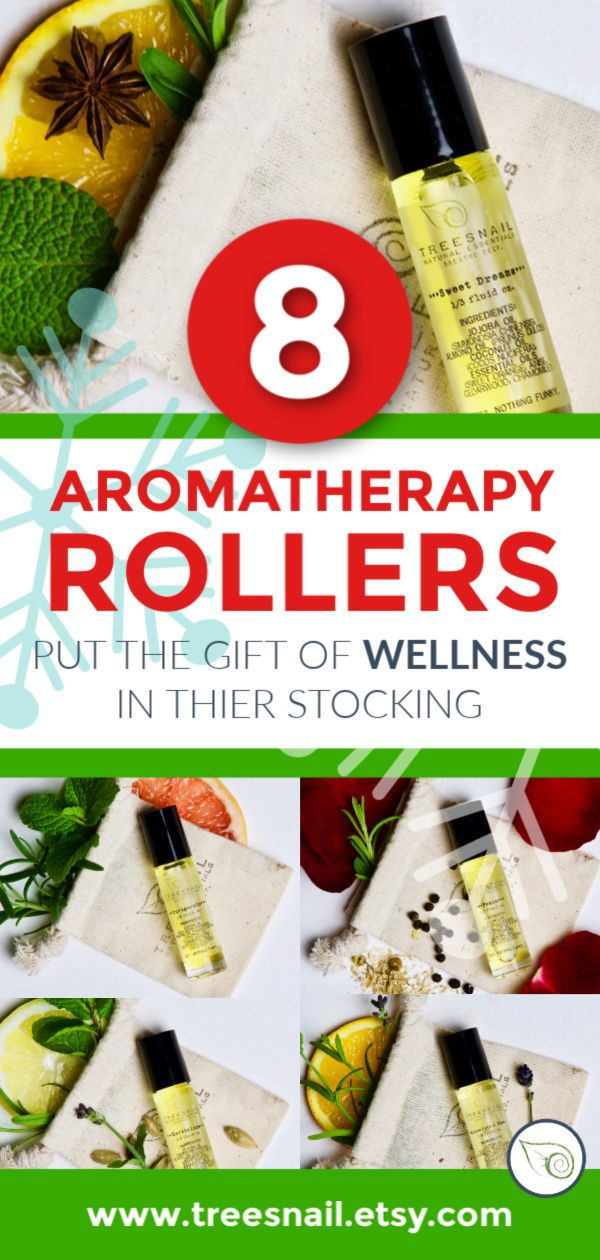 Your choice between 8 daily essential oil rollers for the