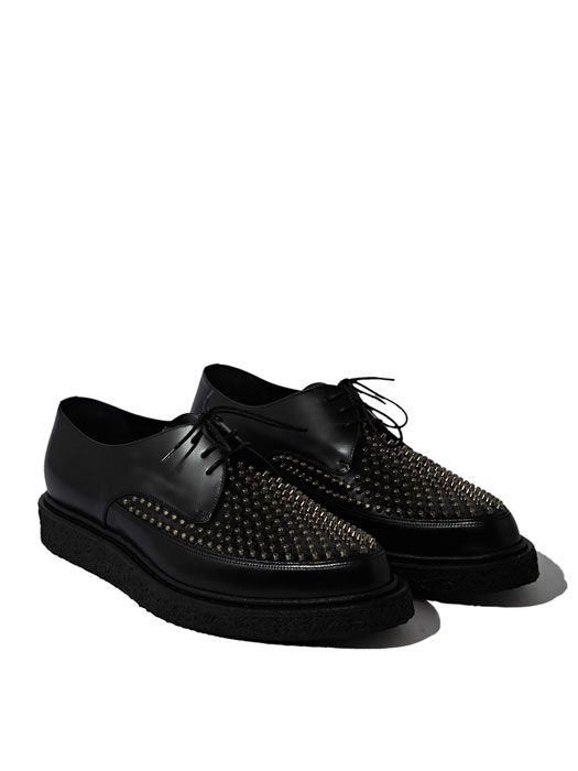 e829d54eb75 Saint Laurent Mens Studded Creeper Shoes | coveted garments in 2019 ...