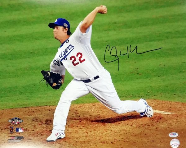 Clayton Kershaw Autographed Los Angeles Dodgers 16x20 Photo Psa Dna Itp Stock 94432 Los Angeles Dodgers Dodgers Clayton Kershaw