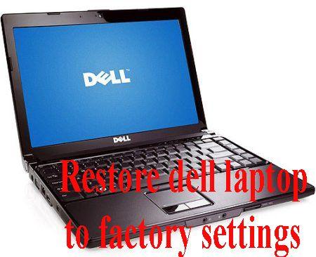 learn basic eletronics,circuit diagram,repair,mini project: restore dell  laptop to factory settings