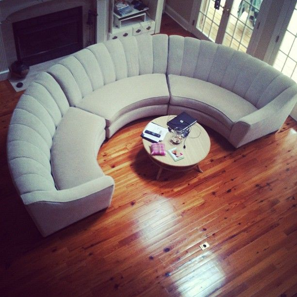 Cindy Crawford Half Circle Couch Cl Find For 400
