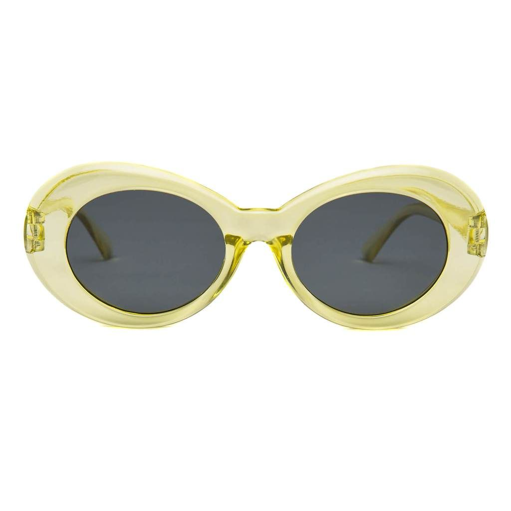 b83100cb17 Clout Goggles Clear Yellow – Cloutedup. Clout Goggles Clear Yellow –  Cloutedup Oval Sunglasses ...