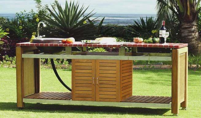 Cuisines d\'extérieur et barbecues design et haut de gamme ...