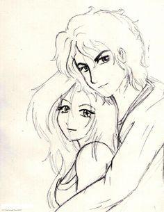 Boyfriend And Girlfriend Drawing