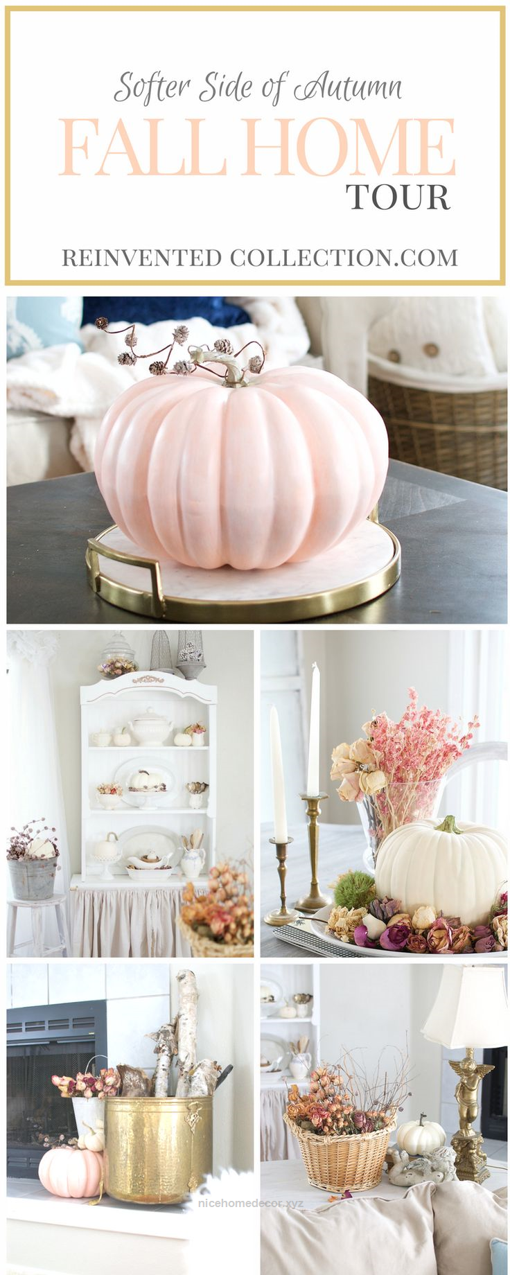 Fall Home Tour 2016 | Pinterest | Country fall, Decor styles and ...