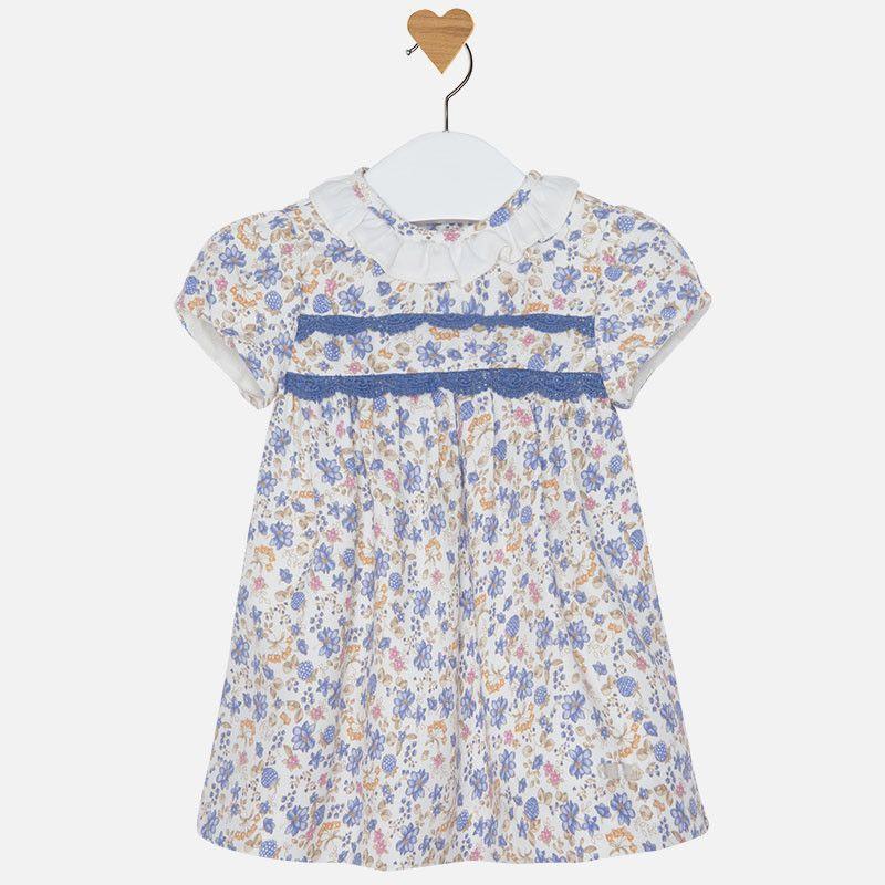 Mayoral Blue Flower Dress