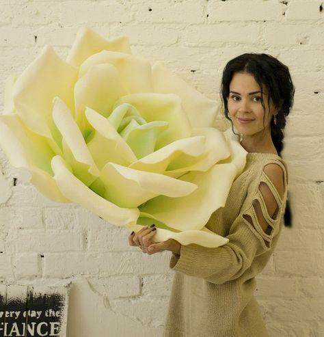 Big flower by izolon/ giant rose
