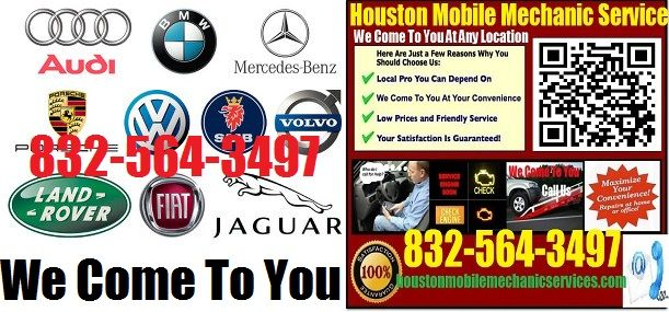 Best Houston Mobile European German Mechanic Auto Car Repair - Graphics for cars near me