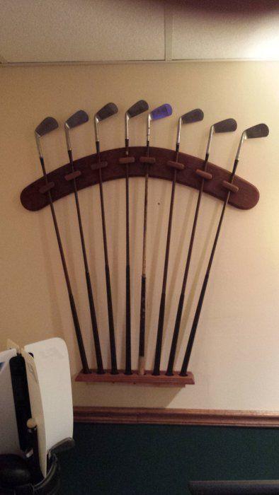 Golf Club Display Rack Bazasto Pinterest Golf Clubs