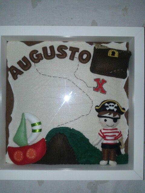 Placa Maternidade para o aventureiro Augusto. Muitas aventuras o aguardam! !!