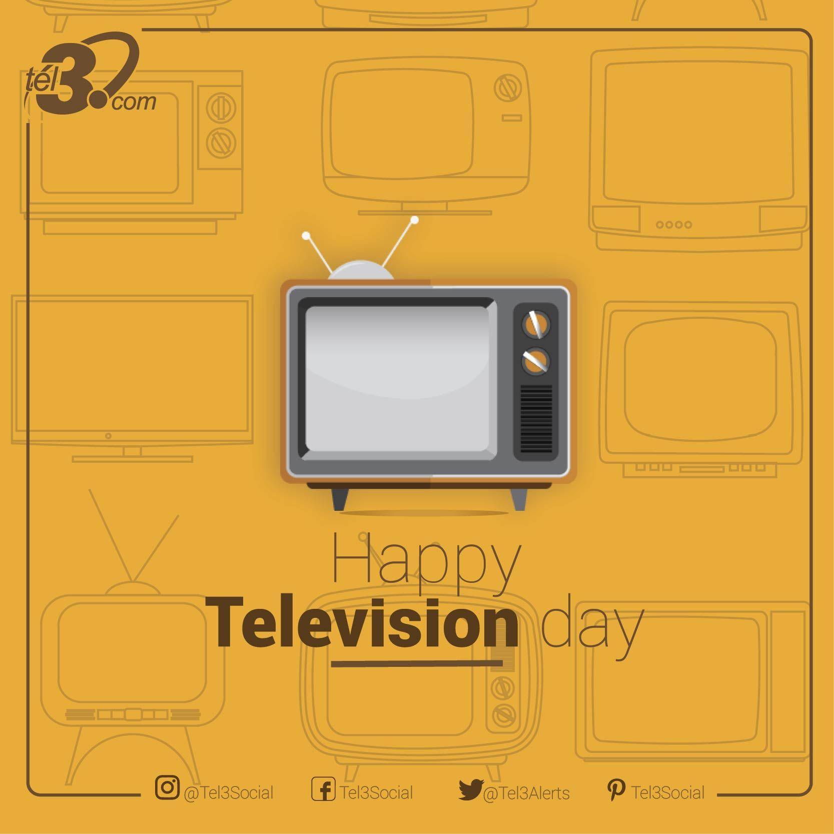 #DíaMundialDeLaTelevisión un invento que revolucionó por completo los medios de comunicación #MondayMotivation