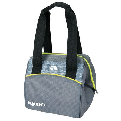 Igloo Stowe Leftover Tote Cooler Color: Gray/Lime
