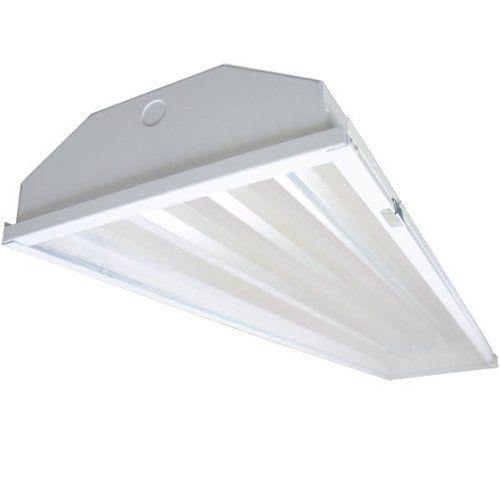 Commercial Lighting 4lamp T5 HO High Bay Fluorescent Lighting ...