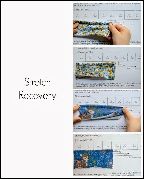 Sewing with nits | Nähen von A-Z | Pinterest | Spandex, Estiramiento ...