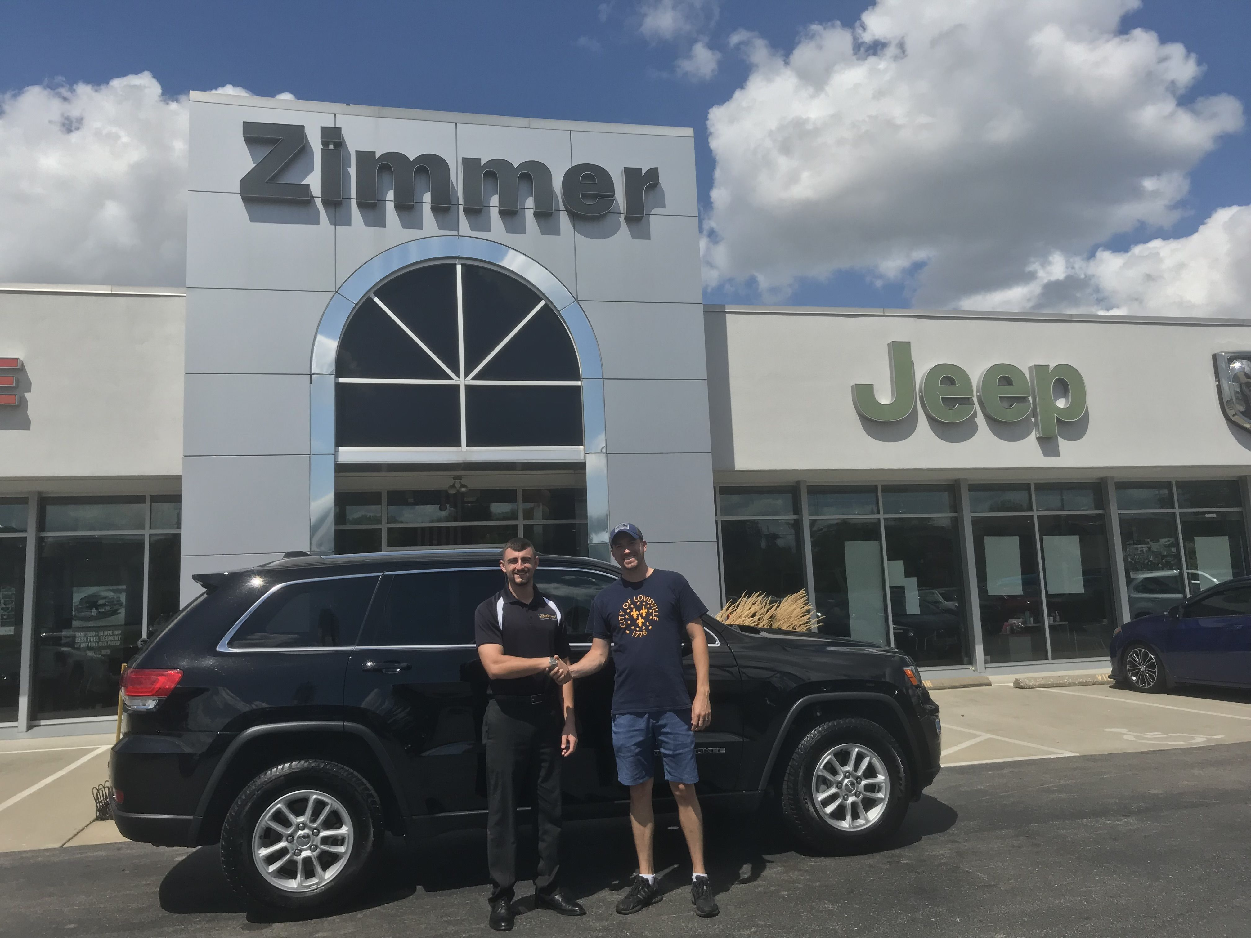 Congratulations Are In Order For Jay Schweitzer He Was In The Market For A New Suv And Knew Jeep Was The Only Choice T Chrysler Dodge Jeep Jeep Dealer New Suv