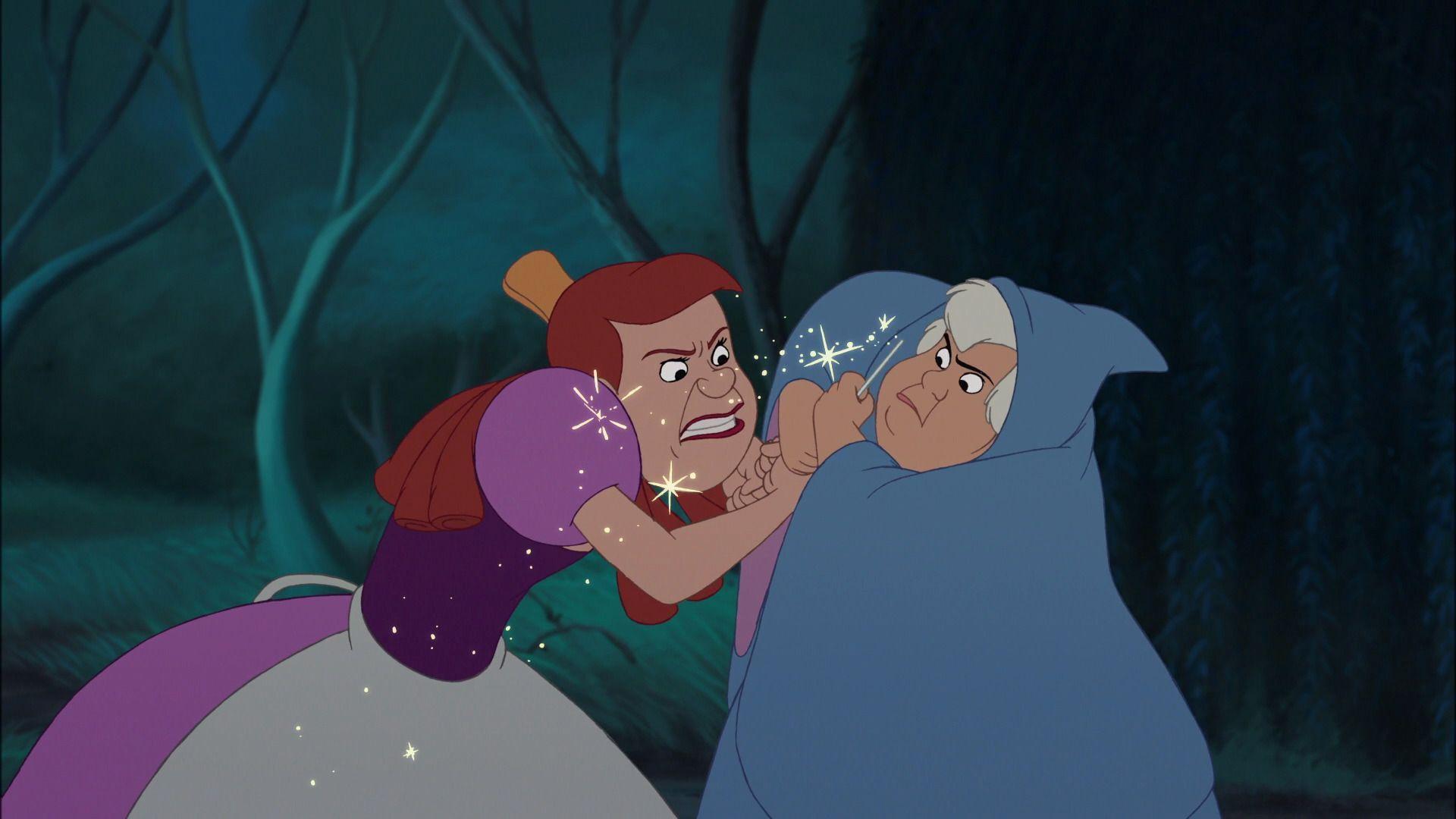 Anastasia The Fairy Godmother Cinderella Iii A Twist In Time