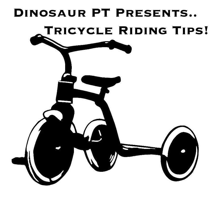 Teaching A Child To Ride A Tricycle Gross Motor