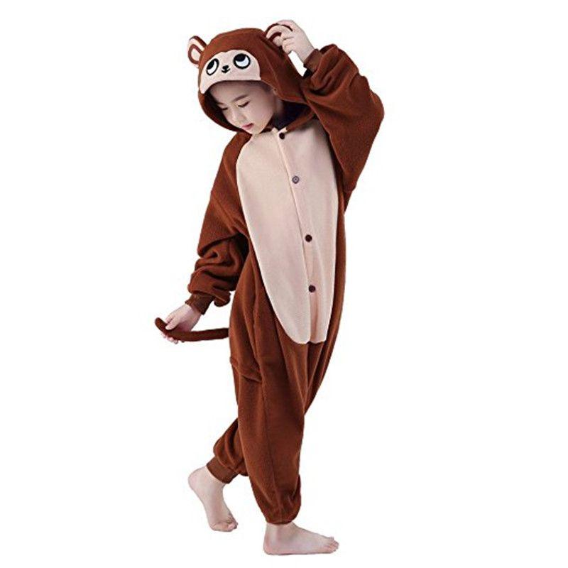 NEW Brown bear kigurumi Unisex Adult Animal Onesie11 Cosplay Costume Pajamas
