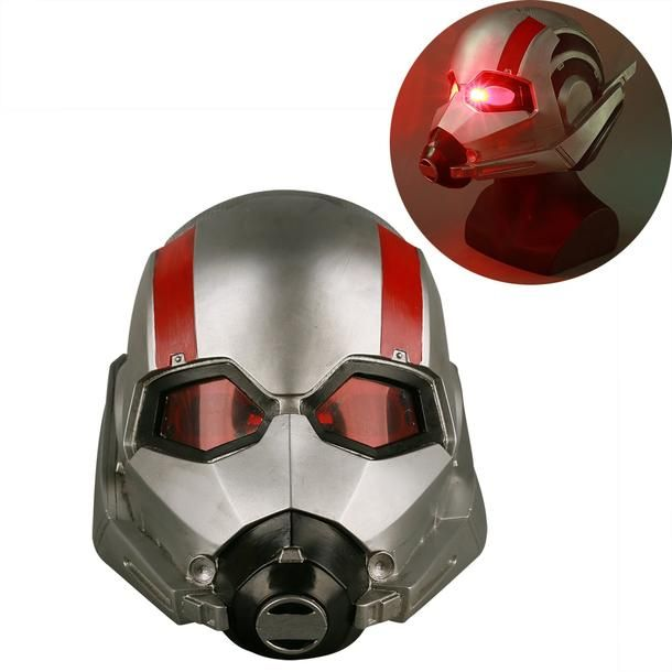 2018 New Ant Man Helmet Cosplay Ant-Man and The Wasp Helmet Superhero Mask Latex