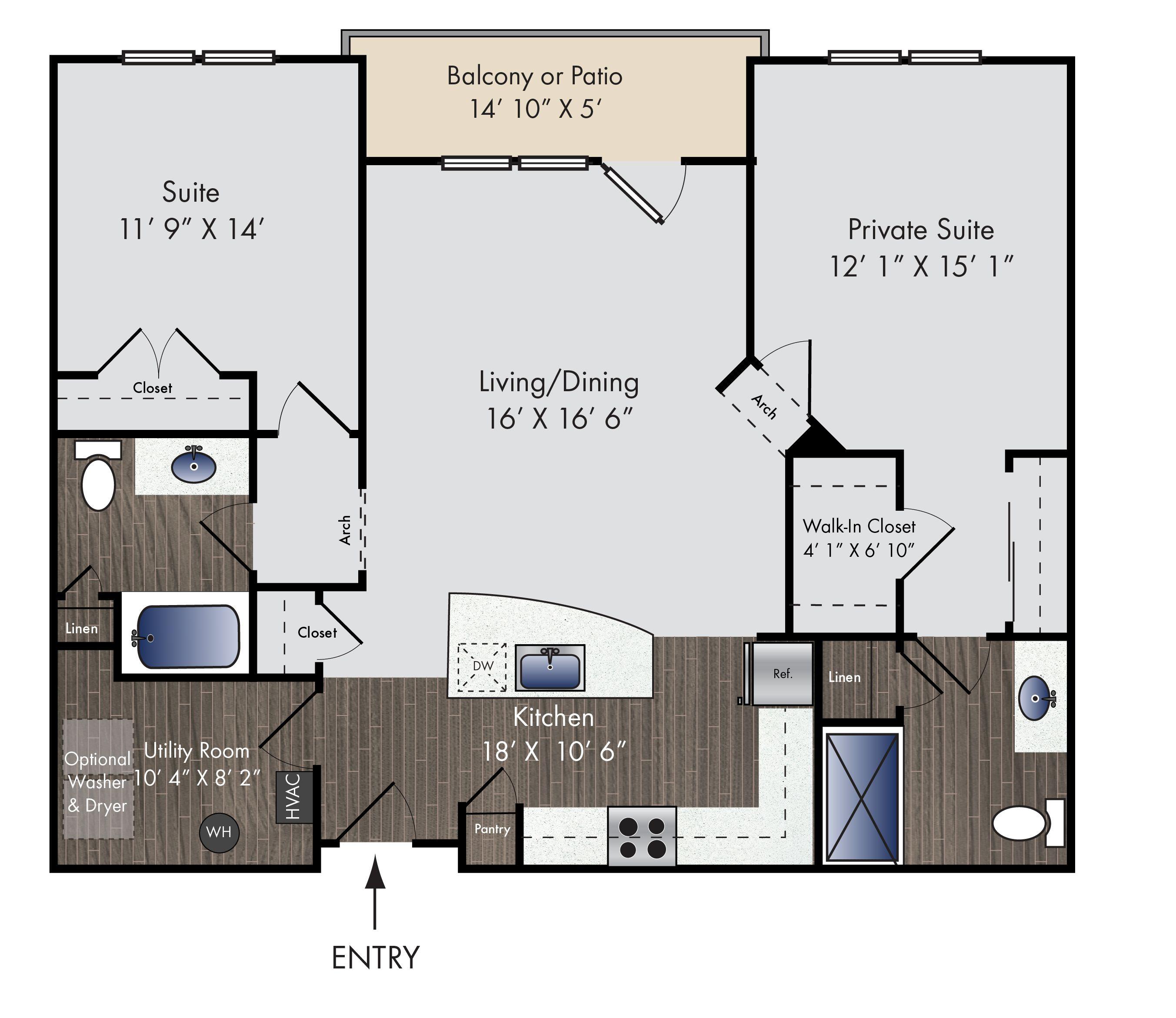 The Mcqueen floor plan (With images) Floor plans