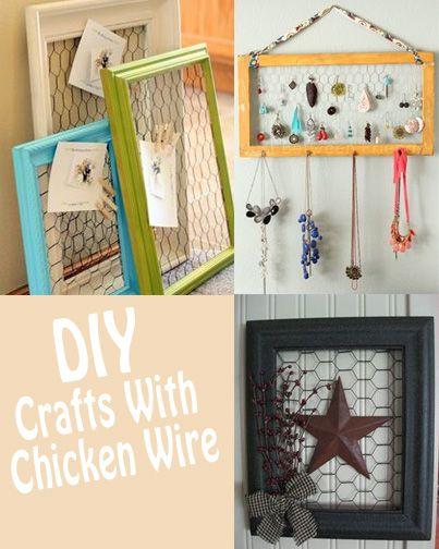 Chicken Wire Frame Tutorial | I WANT TO MAKE | Chicken wire crafts