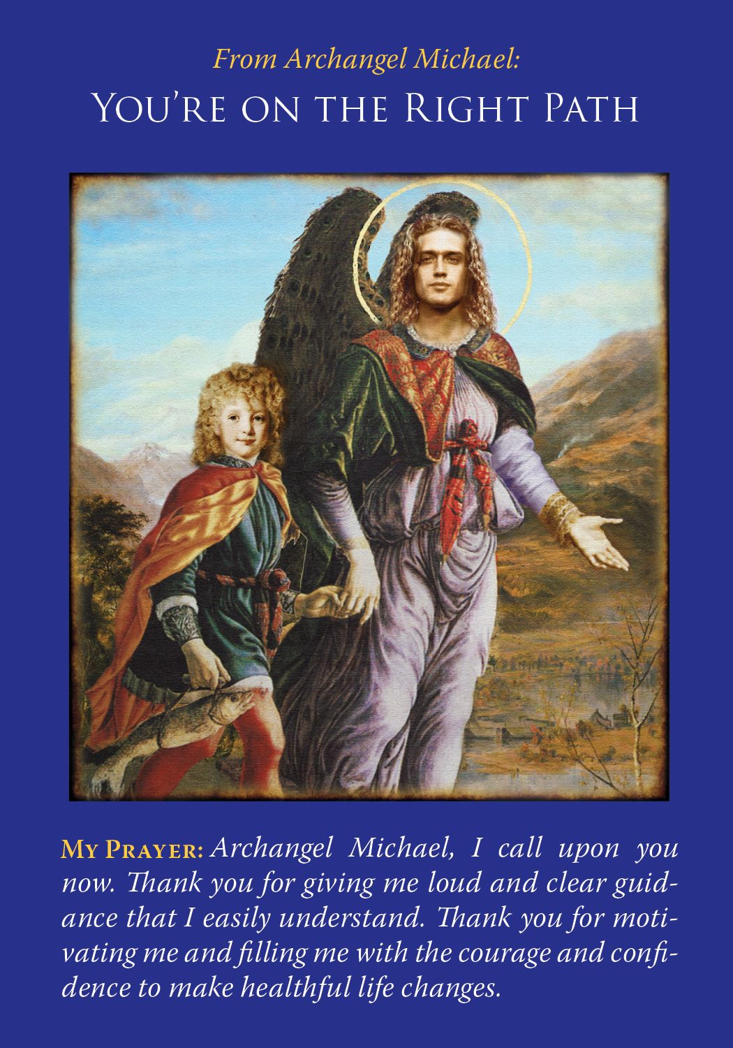 Oracle Card You're On The Right Path Archangels