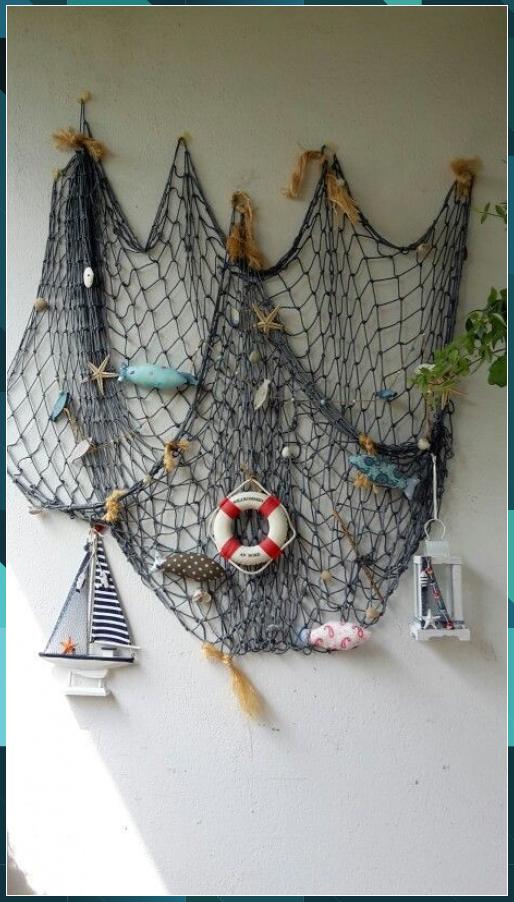 Maritime Wand Deko Fische Basteln Kinder Maritime Wand Deko Fische Basteln Kinder In 2020 Dekoration Maritime Deko Nautische Einrichtung