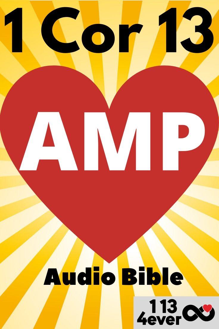 1 corinthians 13 audio bible amplified bible amp