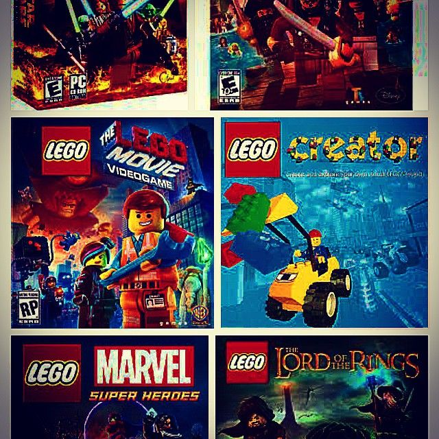 Day 3: My guilt pleasure game(s) - almost the hole franchise of lego ...
