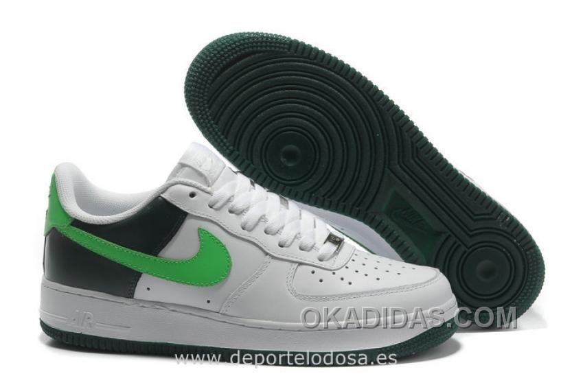 huge selection of 01c5b db455 Buy Nike Air Force 1 Low Hombre Blanco Negro Vert (Air Force 1 Blancas)  Authentic from Reliable Nike Air Force 1 Low Hombre Blanco Negro Vert (Air  Force 1 ...