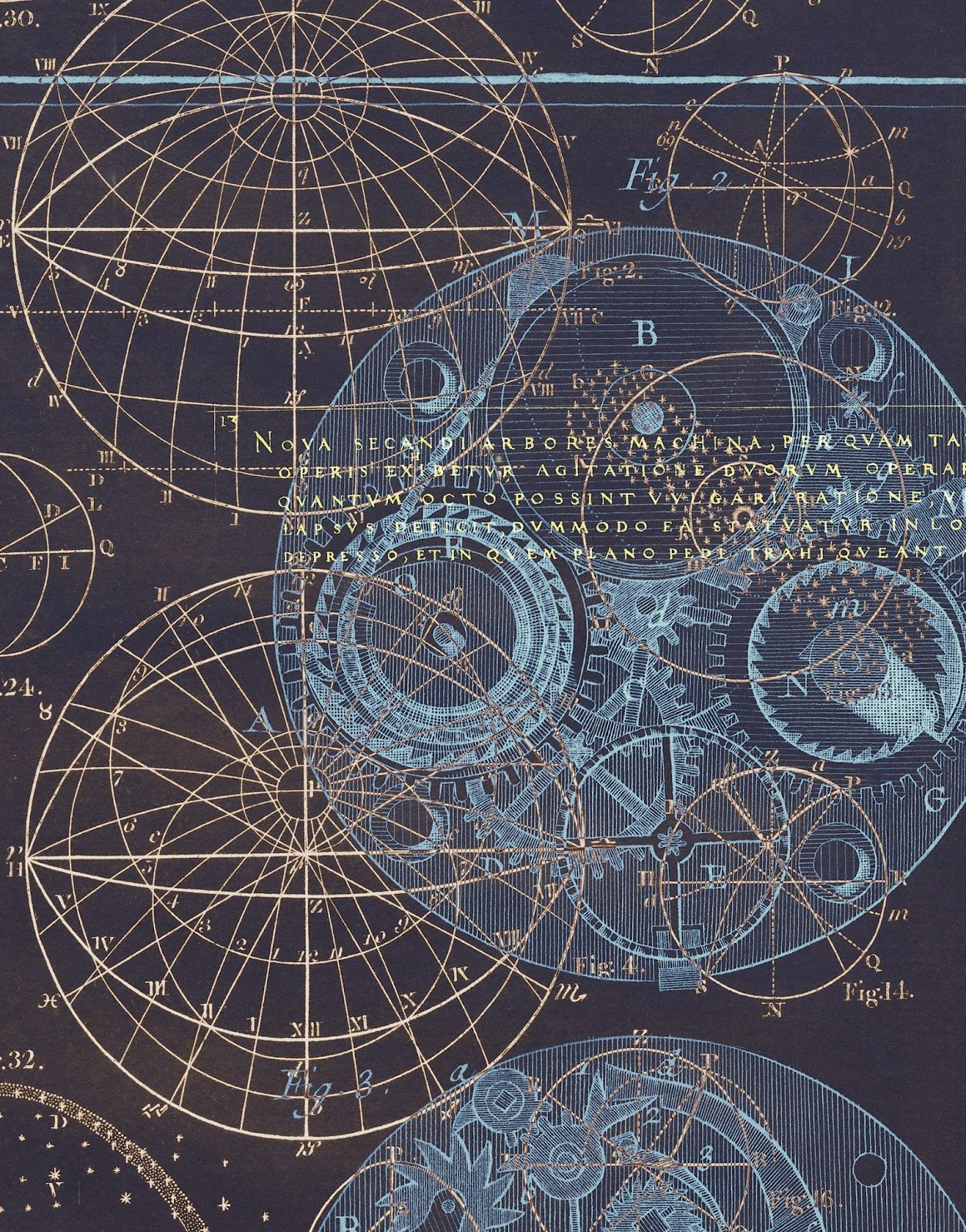 Scientific And Astronomy Royalty Free Vintage Illustrations From