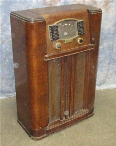 Zenith 1940 S Floor Tube Radio American Police Automatic Tuning Parts Repair B Flooring Vintage Radio Repair