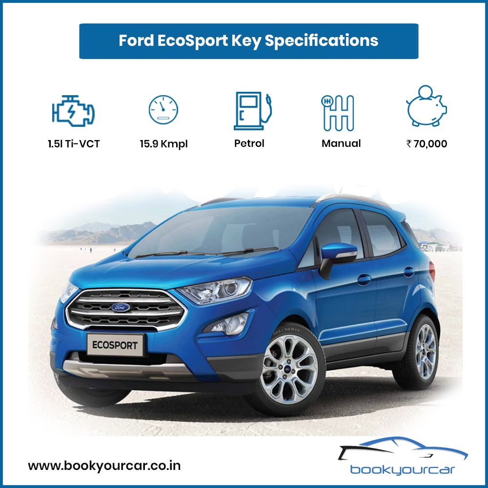 Get Important Updates And The Latest News About Ford Ecosport Get Updated Information On Price Discounts Reviews And Many More Only On Book Your Car