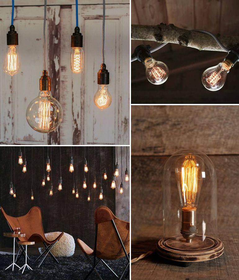 Des Ampoules A Filaments Dans Ma Deco Inspiration Ampoules A