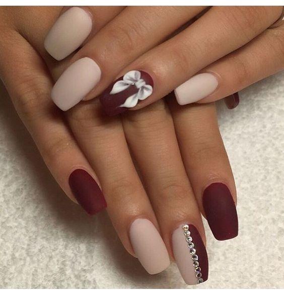 unhas de gel branco mate - Pesquisa Google | Nails | Pinterest ...