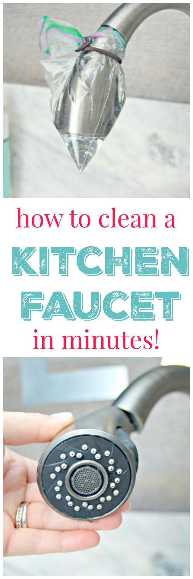 kitchen faucet clean kitchen sink