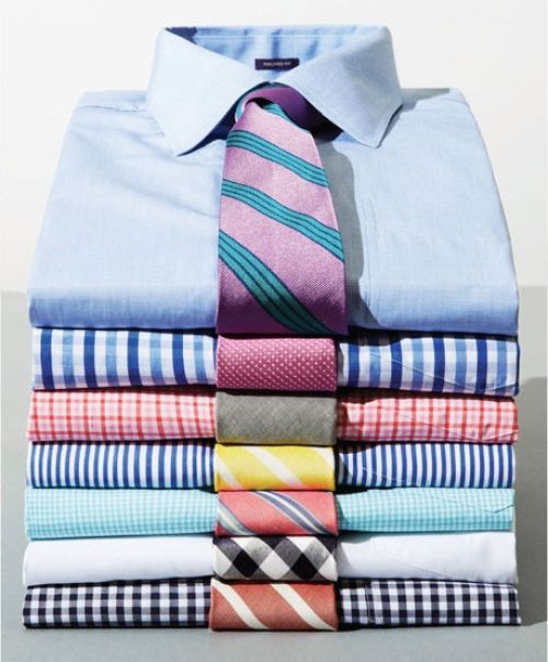 Men's Shirts & Ties Combinations | Sprig/Summer Look | Men's Fashion | Menswear | Moda Masculina | Shop at designerclothingfans.com