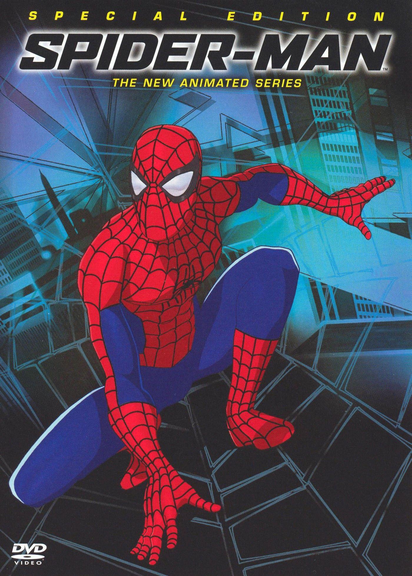 Spider Man The New Animated Series Season 1 Dvd 2004 Spiderman Spider Man Animated Series Spiderman Movie
