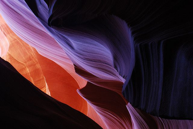 sapphire1707:  Antelope Canyon by @PAkDocK / www.pakdock.com on Flickr. sapphire1707.tumblr.com ✿⊱╮