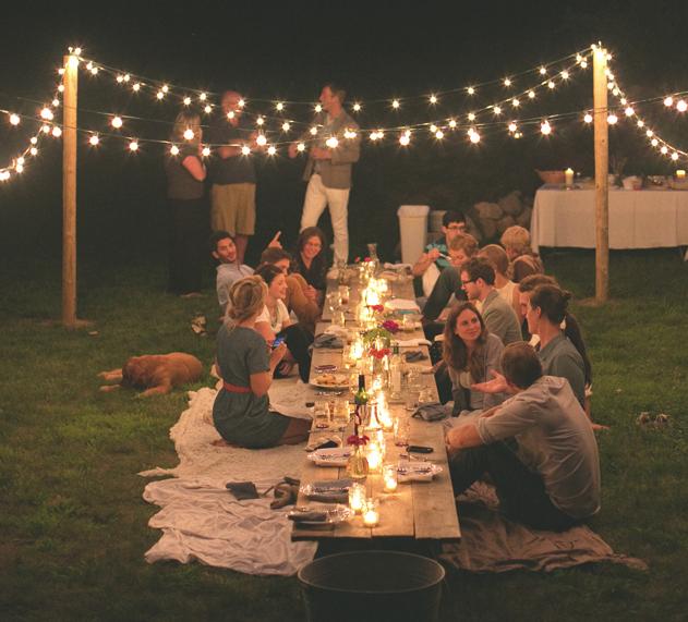 Linen Lace Love End Of Summer Party Ideas Ide Dekorasi Desain